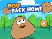 Play Pou Back Home game