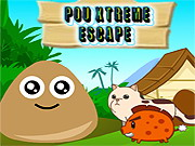 Play Pou Xtreme Escape game