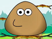 Play Pou Jump Adventure game