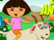 Play Dora Animal Adventure game