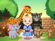 Play Baby Rosy And Tom Zoo Adventure game