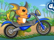 Pokemon Bike Adventure Game