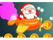 Play Santa Fly Christmas Game game