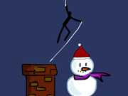 Play Spider Stickman 5 Christmas game