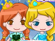 Frozen Elsa Magic Adventure Game