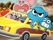Play Gumball Wheels Of Rage game
