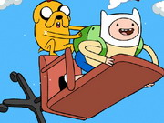Adventure Time Up Game