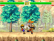 Play Creetor Animation Fighting: Luffy Vs Naruto game