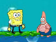 Play Spongebob Gold Rush game