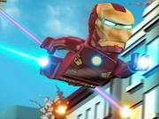 Play Lego Iron Man game