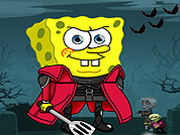 Play Spongebob Halloween Adventure 2 game