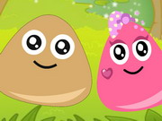 Play Pou And Princess Love game