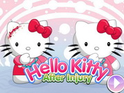 Play Hello Kitty After Injury game