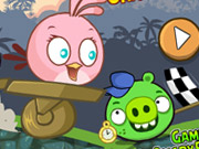 igrati Angry Birds Crazy Racing igra