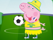 Play Peppa Pig World Cup Dress Up Game