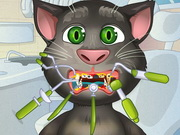 Play Talking Tom Tooth Problems game