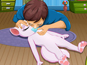 Play Talking Angela First Aid game