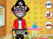 Play Dress Up Talking Tom game
