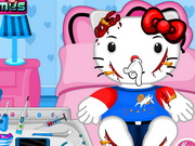 Play Hello Kitty Bicycle Accident game