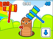 Play Mole Hammers game