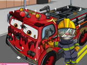 Play Tom Wash Fire Truck game