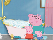 Play Peppa Pig Cleaning Day game