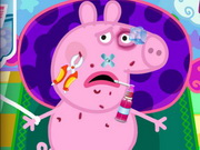 Play Peppa Pig Injured game