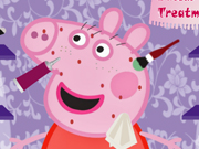 Play Peppa Pig Facial Treatment game