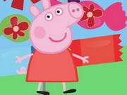 Play Peppa Pig Candy Matching game