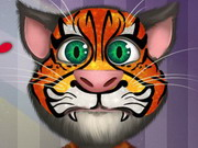 Play Talking Tom Face Tattoo game