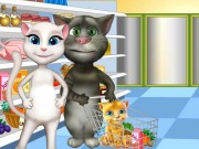 Play Tom Family Shopping And Cooking game