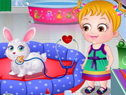 Play Baby Hazel Pet Hospital game