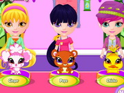 Play Baby Barbie My Fairy Pets game