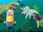 Play Minions In Jurassic Park game