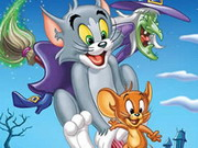 Tom And Jerry Scary Puzzle Game