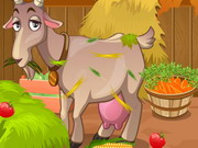 Play Goat Shed Cleaning game