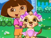Dora Cute Puppy Caring Game