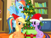 Play My Little Pony Christmas Disaster game