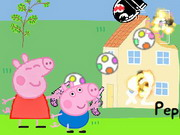 Play Peppa And George In Alien Invasion game