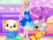 Play Elsa Pet Show Contest game