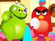 pelata Angry Birds Meet Red Nurse peli