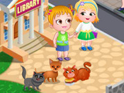 Play Baby Hazel Fluffy Cat game