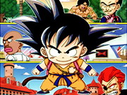 Little Goku Fights The Red Ribbon Game