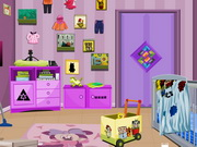 Play Messy Baby Room  Escape game