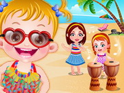 Play Baby Hazel Beach Party game