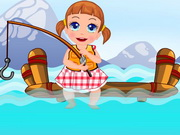Play Baby Seven Fishing Time game
