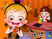 Play Baby Hazel Halloween Crafts game