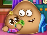 Play Pou Has A Baby game