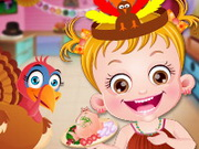 Play Baby Hazel Thanksgiving Fun game