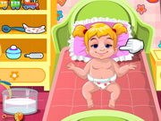 Play Baby Shona Having Fever game